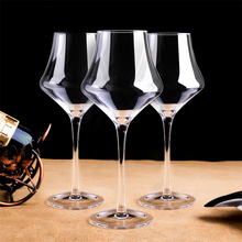 2pcs lead-free crystal wine Goblet glass home drinking goblet Party beer water cup Drinkware Personality