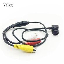 Yalxg новый дом безопасности HD AHD мини 1,0 м/2,0 м 720 P/1080 P CCTV камера системы скрытого видеонаблюдения 3,7 мм/2,8 мм объектив камера