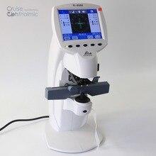 Автоматический линсометр FL8600 истинный цветной монитор | Lensmeter многоязычный | Диоптриметр УФ-тест | контактный объектив аксессуар