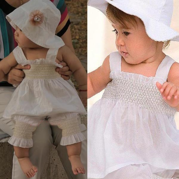 New Fashion Cute Lovely Baby Kids Girls Top+Pants+Hat Set 3 Pieces ... 3c74e9bb897