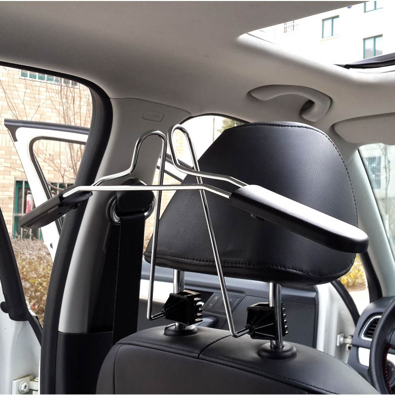 Car Multi function hanger Car seats Back hanging clothes Clothes racks High quality stainless steel Auto
