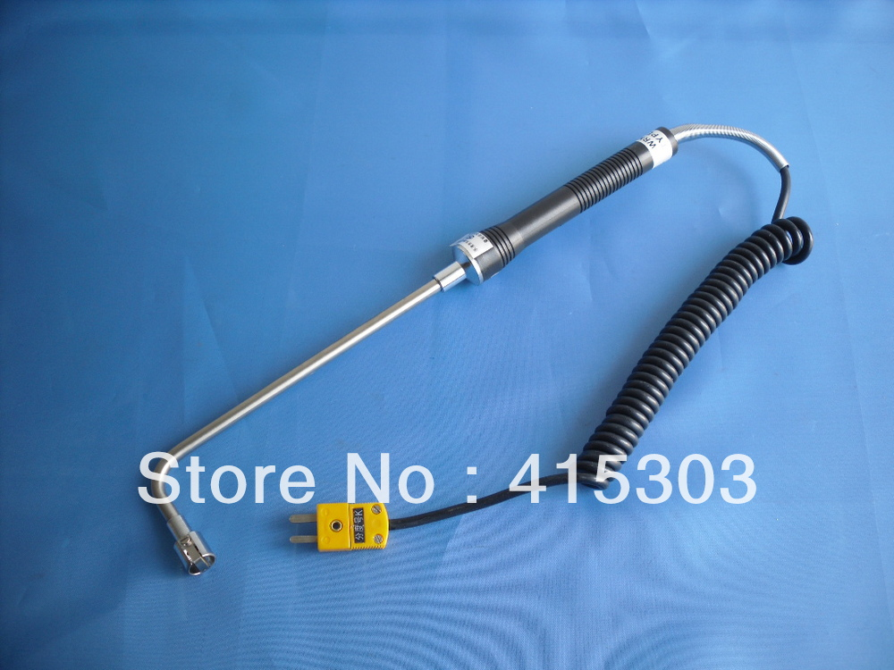 L shape K type  Surface thermocouple wth Handle and Mini Connector China Post Free ShippingL shape K type  Surface thermocouple wth Handle and Mini Connector China Post Free Shipping