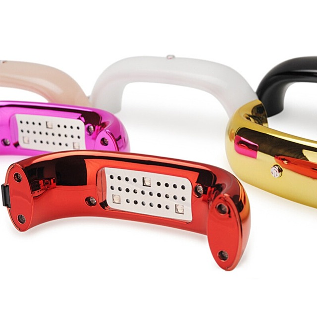 9W LED Nail Gel USB Dryer Nail Gel Rainbow Shape Mini Lamp For Nails Manicure Machine Gel Lamp LED Gel Polish Manicure Tools