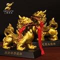 La apertura de un cobre adornos tan bueno como el agua Xiu Feng Shui lucky regalos de artesanía Muebles Para El Hogar abierto 9996