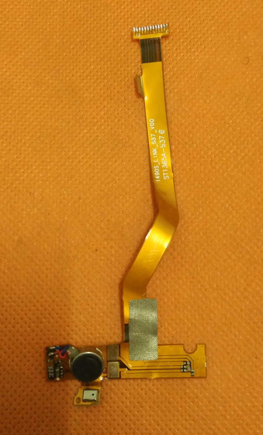 Utilisé D'origine Principal FPC connecter Carte Mère + Vibrations Moteur + Microphone Pour Bluboo Xfire MTK6735M Quad Core 5.0 ''QHD 960x540