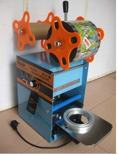 Guaranteed 100% New Cup Sealing Machine, Cup Sealer ,standard cup dia:7cm,7.5cm,9.5cm, 400~500cups/hour new guaranteed 100