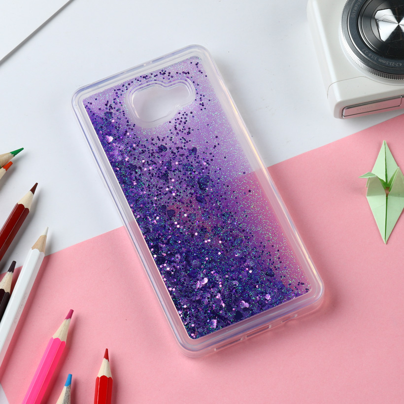 AKABEILA Cases For Samsung Galaxy A5 2016 Case Silicone Soft PC Quicksand Cover Duos A510F A510F/DS A510FD A510M/DS A510Y/DS