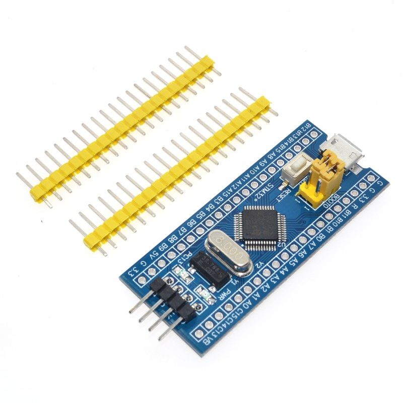 US $1 63 12% OFF|Free Shipping STM32F103C8T6 ARM STM32 Minimum System  Development Board Module For arduino CS32F103C8T6-in Integrated Circuits  from
