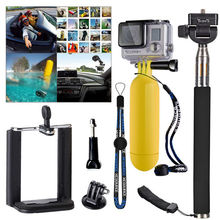 Go pro hero Accessories Self Monopod Float Bobber Stick mobile tripod for xiaomi yi Gopro Hero 3 3+ 4 session 5 sj4000 sjcam