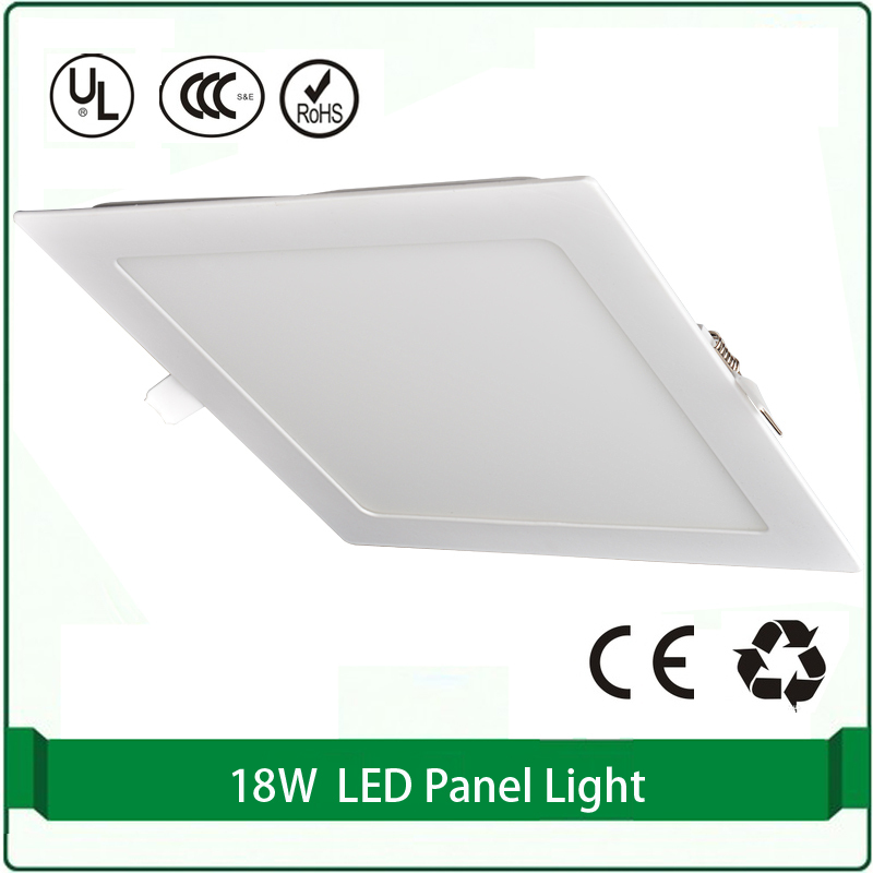 free shipping flat panel light 18w super slim panel lights led panel light led panels