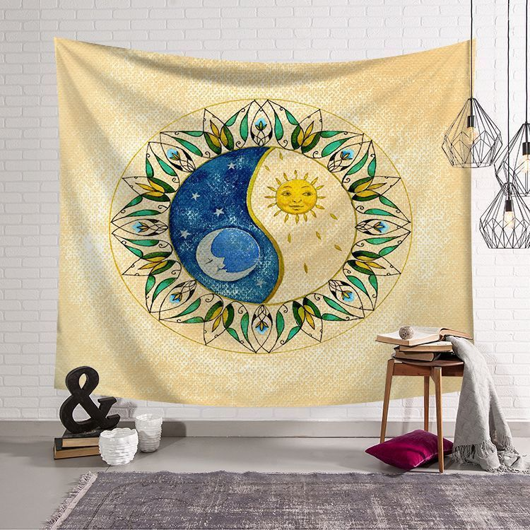 Sun Series Northern Europe Wall Tapestry Bedroom Living Room Home ...