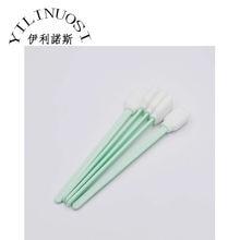 Хит! 100 шт 130 мм Длина зеленые головки Чистящая палка для