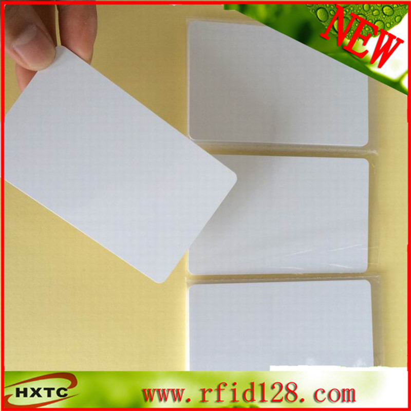 50PCS/Lot CR80 Standard 125Khz Rewritable RFID Smart Blank PVC Card with T5577/T5567/T5557 Chip For Hotel Lock system hotel lock system rfid t5577 hotel lock gold silver zinc alloy forging material sn ca 8037