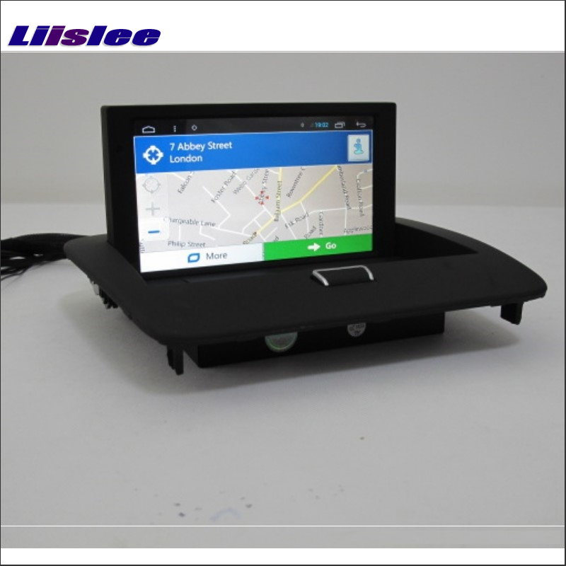 Liislee Für Volvo S40 V50 C30 C70 2004 ~ 2013 Autoradio Android GPS NAV NAVI Navigation Multimedia System W/O Radio CD DVD Player