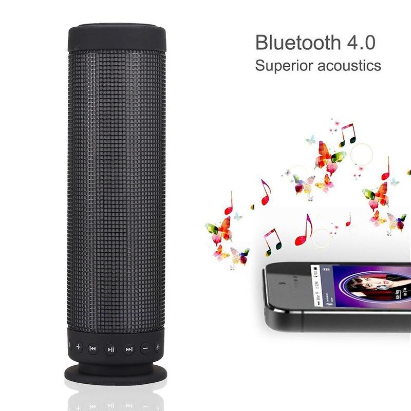 2019 plus récent couleur lumières haut-parleur Portable sans fil Bluetooth haut-parleurs pour la maison voiture nk-shopping