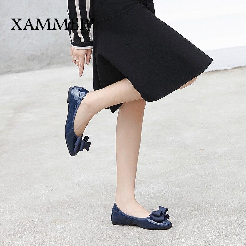 De beige Sneakers Pu Femmes Printemps dark Doux Ballet Féminin Haute Black gray Rond Xammep Appartements Casual Qualité Chaussures Blue Bout Marque Automne x8qwIz81