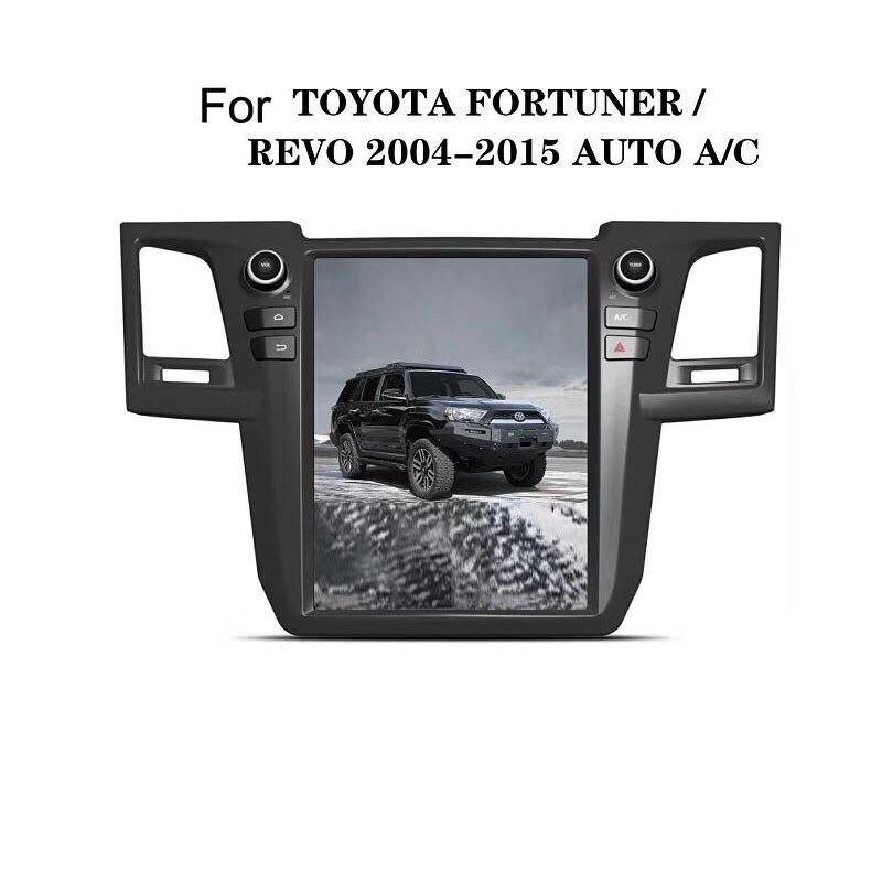 12,1 Тесла Android 7,1/6,0 Fit TOYOTA Fortuner/HILUX Revo 2010 2011 2014 2013 2012 2015 DVD плеер автомобиля навигации gps радио