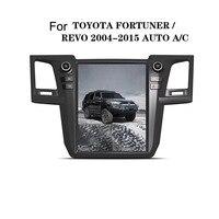 12,1 Тесла Android 7,1/6,0 Fit TOYOTA Fortuner/HILUX Revo 2005 2011 2012 2013 2014 2015 DVD плеер автомобиля навигация GPS радио