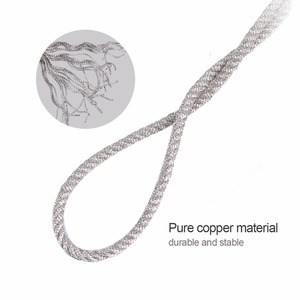 Image 2 - 32 Strands High Temperature Resistant Twisted Pure Silver Wire Speaker Lead Wire Repair