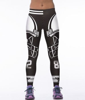 Unisex Football Team Cowboys 82 Print Tight Pants Workout Gym Training Running Yoga Sport Fitness Exercise Leggings Dropshipping 1