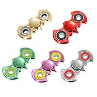 Fidget Hand Spinner Electroplated Batman Style Stress Reliever Focus Gifts For Child Hand Spinner