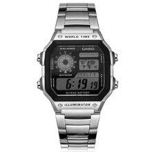 d40429d5a45 Casio Relógios top marca de luxo Homens Esportes AE-1200WHD-1A digital À  Prova D  Água Alarme Calendário Completo aço inoxidável.