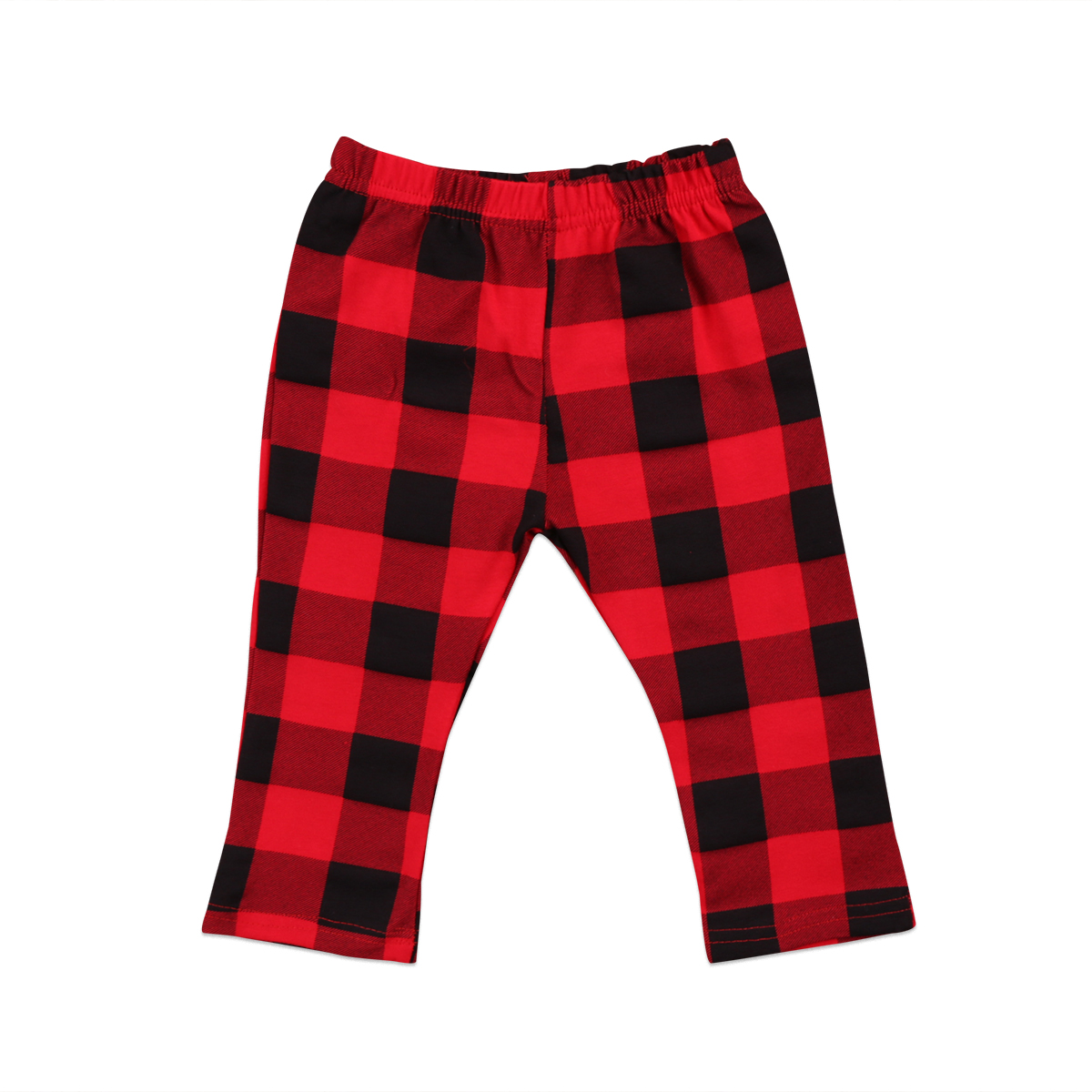 0-3T Red Plaid Newborn Kids Baby Girls Boys Pants Bottoms Cute Baby Clothes Plaid Pants 6M 12M 18M 24M 3T(China)