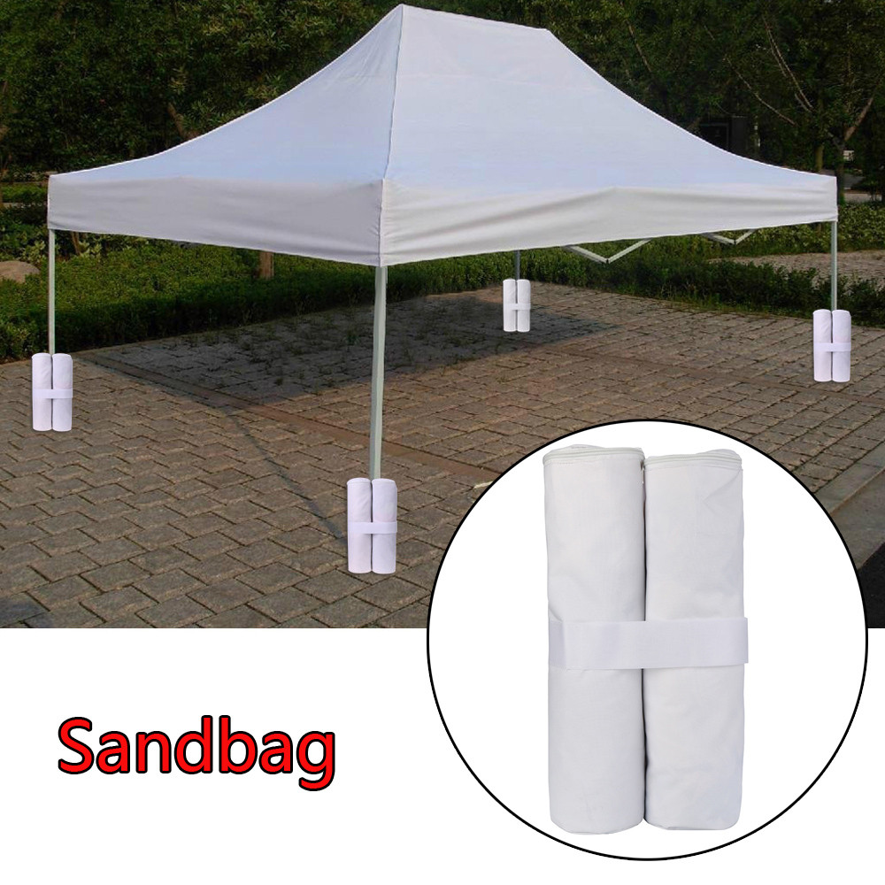 4pcs Outdoor Canopies Tent Fixed sandbag Awning Marquee Stand Anchor Sandbag Holder(China) : canopy anchors - memphite.com