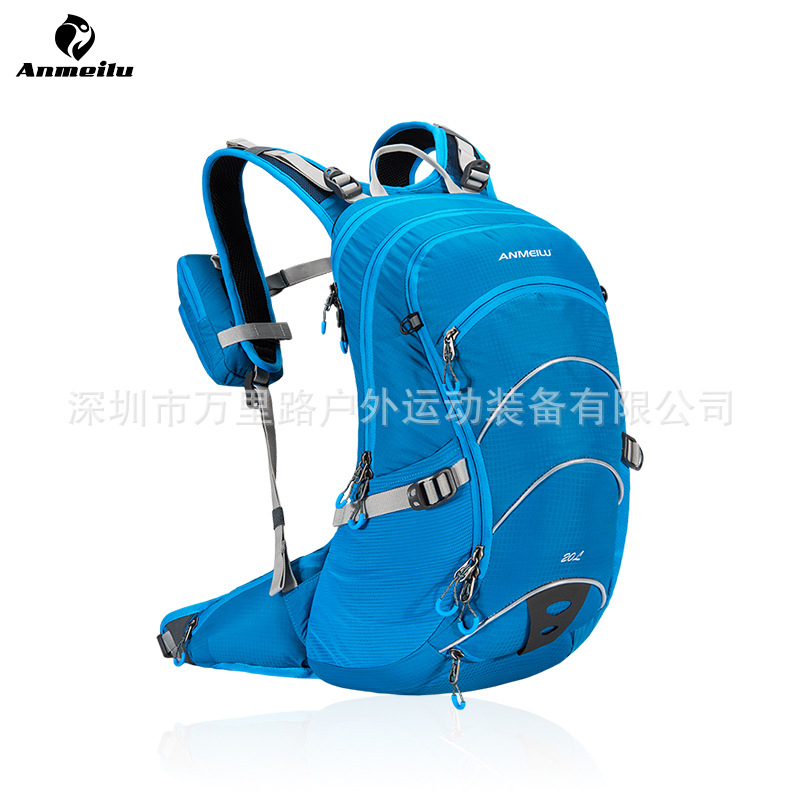 ANMEILU 20L Motorcycle Bags Sports Rucksack Hiking Cycling Climbing Backpack Hydration Bag 2L Water Bag Rucksacks Knapsack in Carrier Systems from Automobiles Motorcycles