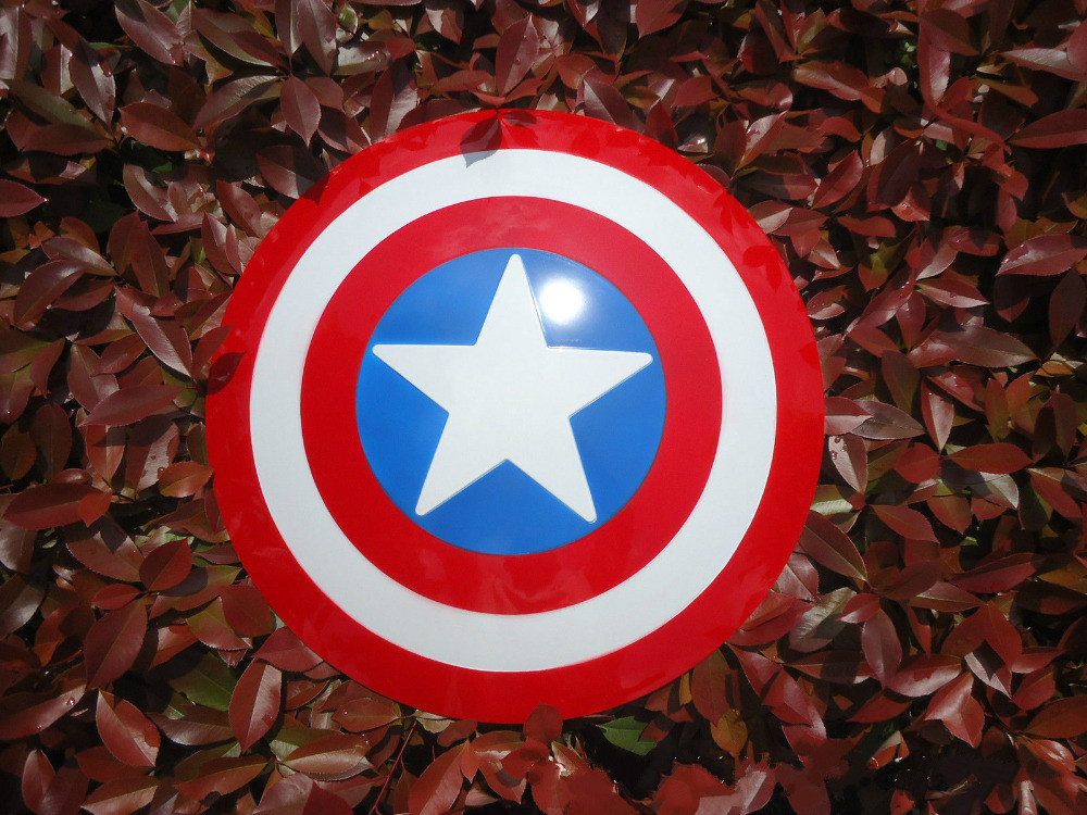 (In Stock)Captain America Shield 1:1 The Avengers Captain America Cosplay Weapon Amor Props Civil War Steve Rogers Cosplay