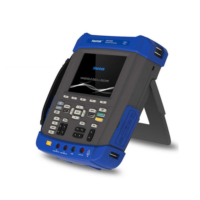 Cheap Hantek DSO8202E Digital Osciloscopio USB PC Based Storage Lcd Automotive Oscilloscope Portable Multimeter 200Mhz 2 Channels Tool