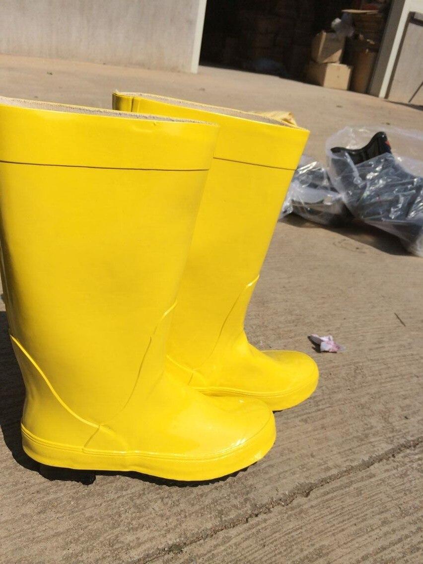 Schneidig Niedrigen Preis Freies Verschiffen Chemikalienbeständige Stiefel Gelb Anti Chemischen Stiefel SchöNer Auftritt Arbeitsplatz Sicherheit Liefert Sicherheitsgurt