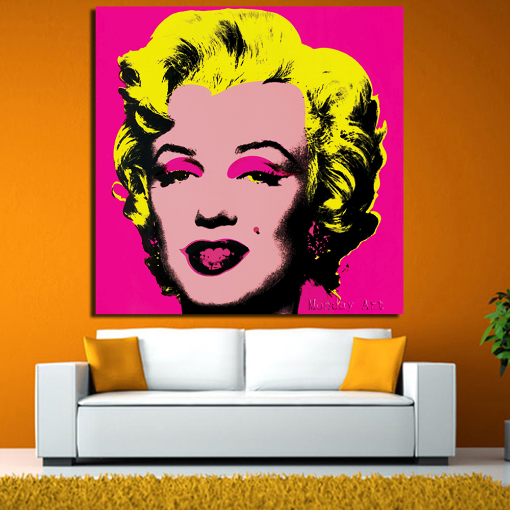 RELIABLI-Andy-Warhol-Marilyn-Monroe-Canvas-Paintings-Pop-Art-Canvas-Print-Posters-Rosy-Color-Modular-Pictures (1)