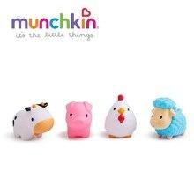 Игрушка для ванны Munchkin деревенские зверюшки 9+ 4 шт.