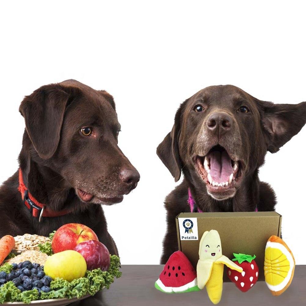 42290292116d85 12 Pacco Set Regalo Stridulo Suono Chew Giocattoli Pacchetto per Pet cani  Gatti Peluche Ortaggi Frutta Dessert Peluche All In One in 12 Pacco-Set  Regalo ...