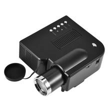 1080P HD мини домашний светодиодный проектор для кинотеатра 4: 3/16: 9 hdmi-проектор медиаплеер портативная система видеоконференции с американской вилкой