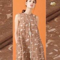 148cm wide 13mm silk linen fabric Skin friendly soft silk skirt fabric linen