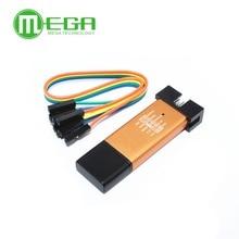 10pcs ST Link V2 stlink mini STM8STM32 STLINK simulator download programming With Cover