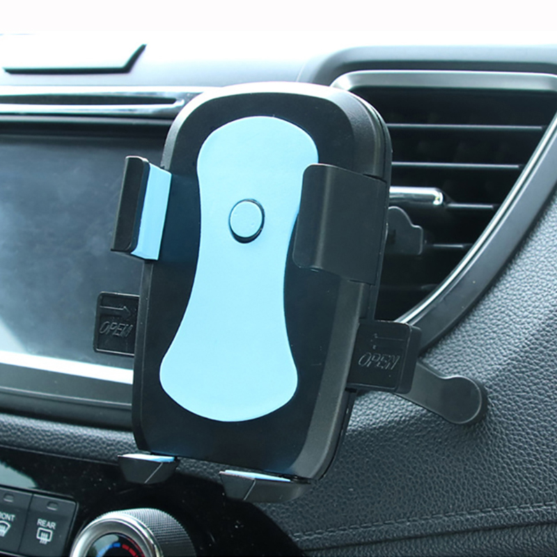 Mobile Phone Holder For Car Phone Support Cellular Auto Accessories Air Vent GPS Navigator Mount Smartphone Stand In Car Bracket