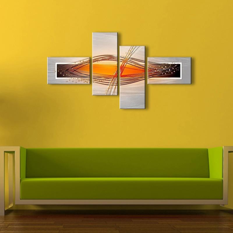 Ölgemälde auf Leinwand Home Decorat auf moderne abstrakte Ölgemälde Wand BL-001