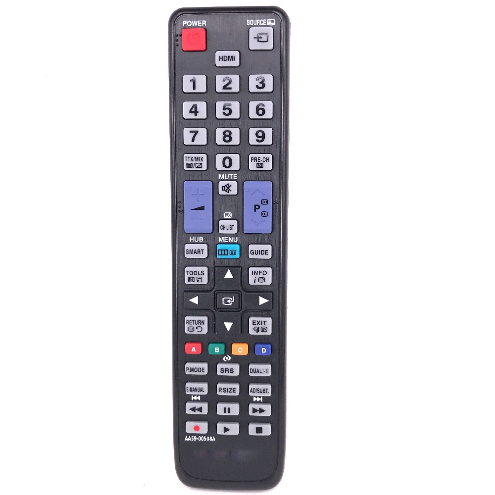 NEW remote control For SAMSUNG TV LCD AA59-00508A Substituir AA59-00478A AA59-00466A BN59-01014A LA32C650L1F