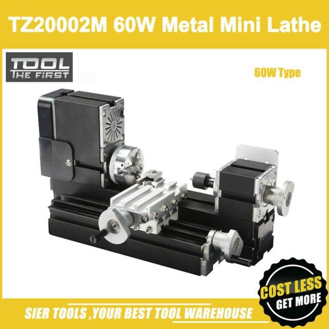 TZ20002M 60W Metal Mini Lathe/60W,12000rpm Big Power all metal lathe/metal mini lathe