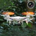 Мини 4 Канал 6-осевой Гироскоп 2.4 ГГц Свет RC Drone Мультикоптер Вертолет Игрушка с 0.3MP Камеры Белый