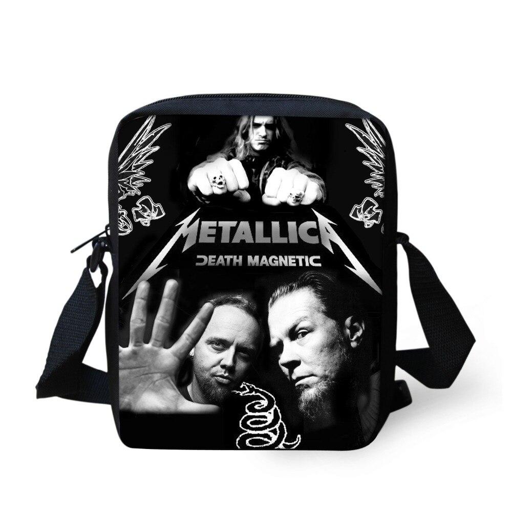 adolescente meninos cruz corpo Tipo de Estampa : Metallica
