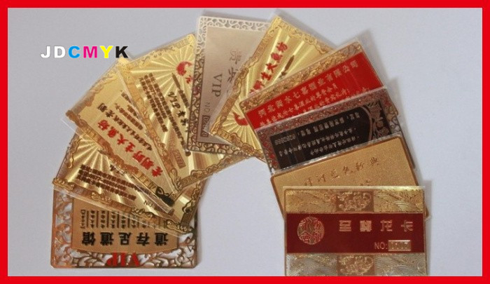 Custom cheap metal business cards 100pcs die cut deluxe metal custom cheap metal business cards 100pcs die cut deluxe metal business cards vip cardsdie cutdouble sideembossed card in cards invitations from reheart Gallery
