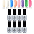 8 Bottles/set BORN PRETTY 5ml Soak Off One-step Gel Polish Candy Colors Manicure Nail Art UV Gel Polish 6003-6011