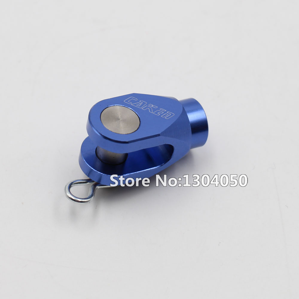 CNC Rear Brake Pedal Clevis Blue for YZ125 250 YZ250F YZ450F YZ250X YZ250FX