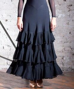 Image 5 - ห้องบอลรูมการแข่งขันเต้นรำผู้หญิง 2020 ออกแบบใหม่ Flamenco กระโปรง Elegant มาตรฐาน Ballroom DRESS