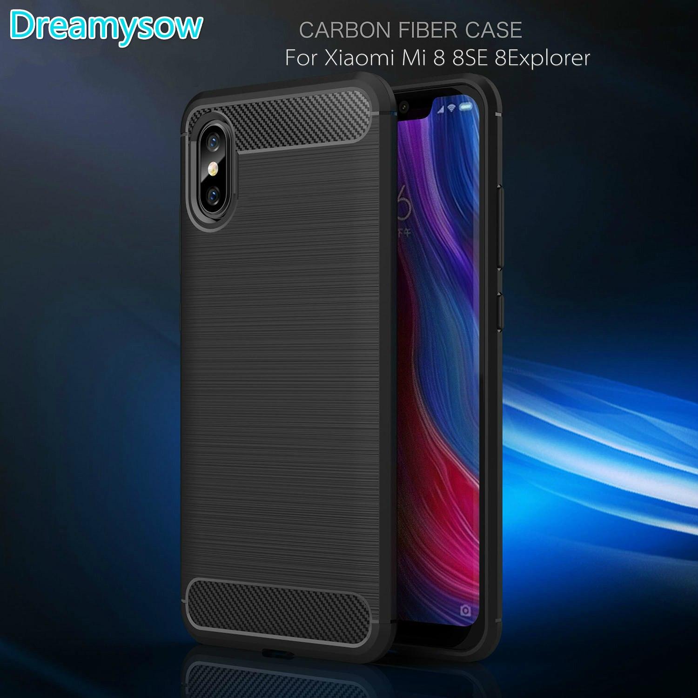 Aliexpress Buy For Xiaomi Mi 8 8SE 8 Explorer Mi5 5S Plus 4S Max Note2 Redmi 3 3S 3Pro 4A 4S 4 4X Note 3 4X Pro 3D Carbon Fiber Soft