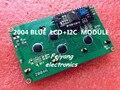 1 ШТ. LCD2004 + I2C 2004 20x4 2004A синий экран Символьный ЖК-ДИСПЛЕЙ HD44780 для arduino/w IIC/I2C Последовательный Интерфейс Модуль Адаптера